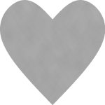 Crosshatch Heart